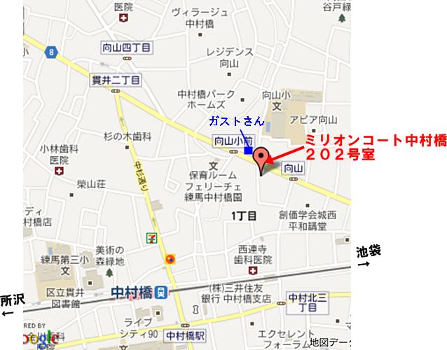 map_ピュアメロディー東京本社